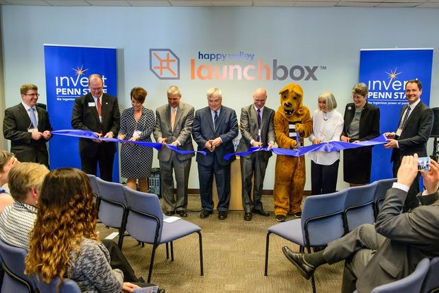 LaunchBox Ribbon Cutting