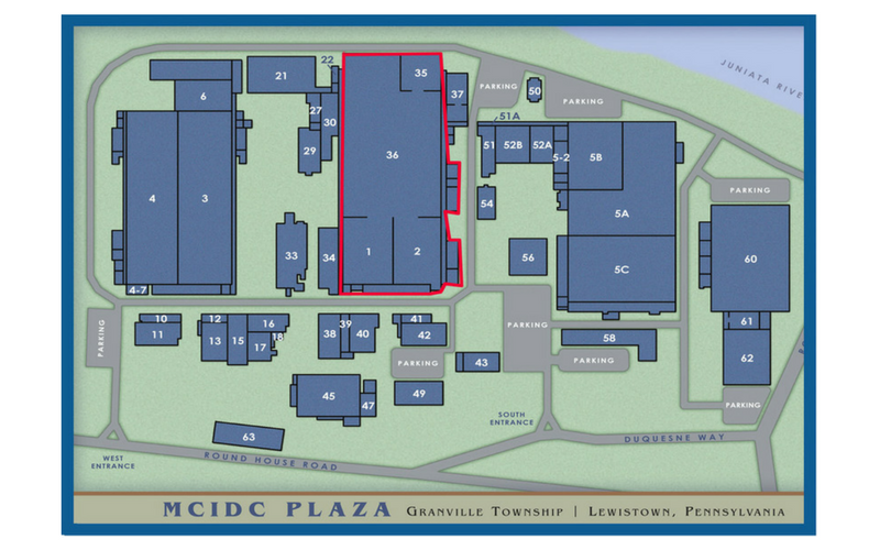 MCIDC facility map